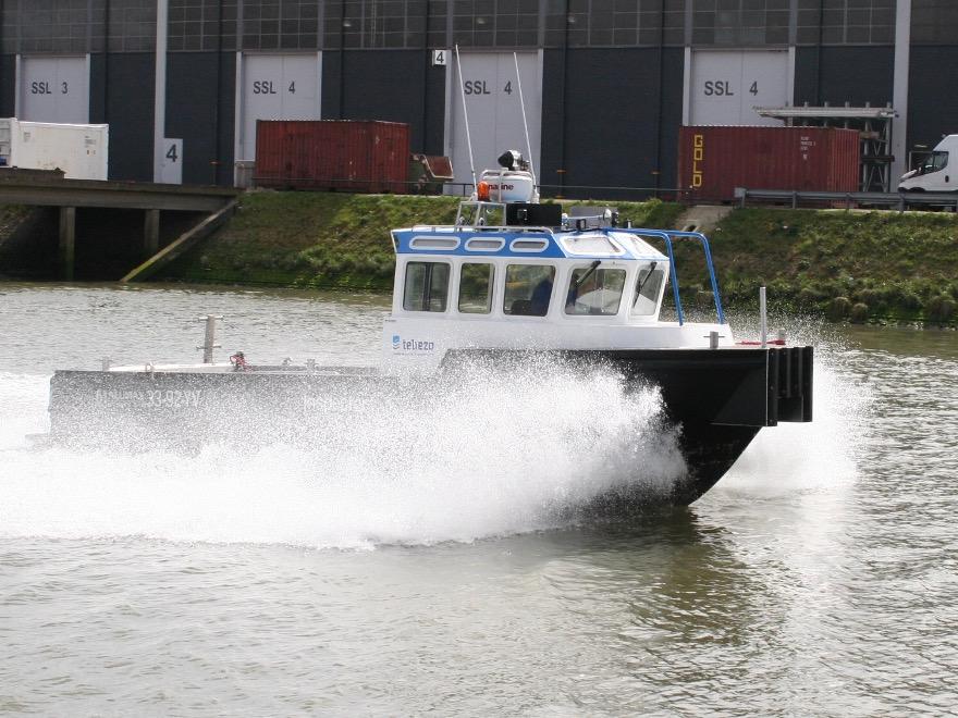 Nieuw inspectie vaartuig