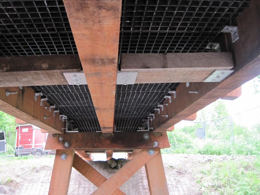 Houten bruggen Lunetten Utrecht