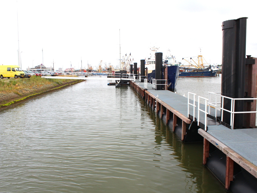 Herinrichting haven Lauwersoog