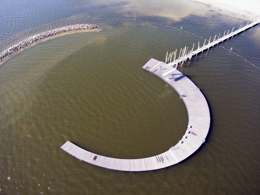 Zwematol Woldstrand